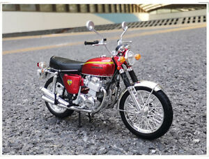 AOSHIMA LCD 1/12 Honda Dream CB750 Four Nightingale Diecast Model Motorcycle
