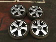 AUDI A3 ALLOY WHEEL SET 18' WITH 225/40/R18 TYRES A3 8P S-LINE RONAL 8P0601025S