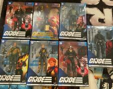 HASBRO G.I. JOE CLASSIFIED LOT 7  Destro DUKE SCARLETT SNAKE EYE+ SEALED NEW!!