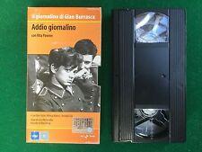 VHS - ADDIO GIORNALINO Gian Burrasca di Lina Wertmuller Rita Pavone (1964)