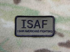 ACU UCP ISAF I Saw Americans Fighting OEF US Army Afghan Morale Patch Hook&Loop