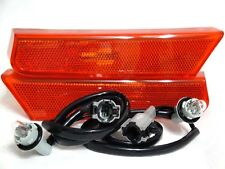 Front Side Marker Signal Parking Light Lamps w/2 Bulbs One Pair for 2002 Xterra