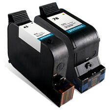 2pk Printronic For hp 45 78 C6578DN 51645A Black Color Ink Cartridge