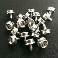 """20 3/8"""" ALL Stainless Steel Screw Snap Studs - Auto- Marine-Truck- Boat- Covers"""