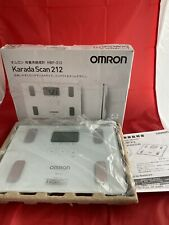 Omron KARADA Scan Body Composition & Scale   HBF-212 White (Japanese Import