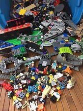 Over 14 lbs Lot of Bulk Lego Building Block Parts, Mini's & Pieces Loose Legos