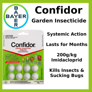 Bayer Garden Insecticide Tablets  Pack 8 20g