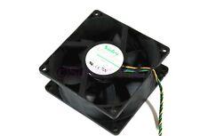 Genuine Nidec 92x38mm Low Speed PWM Fan Computer Cooling Case Fan T92E12BMA7-07