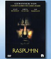 RASPUTIN Alan Rickman DVD Greta Scacchi ULI EDEL Ian McKellen MÖNCH Drama