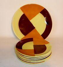 Art Déco-Keramiken Teller