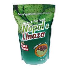 NOPAL & LINAZA // FLAX SEED & NOPAL / 100% NATURAL  1 LB. { 17.6oz 500g }