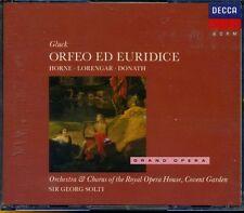 CD- GLOCK - ORFEO ED EURIDICE - SIR SOLTI - ROYAL OPERA HOUSE -- BOX 2 - ZCD2