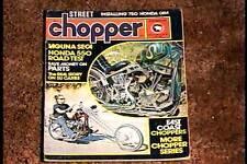 STREET CHOPPER MAGAZINE NOV 1974  FINE BIKER MOTORCYCLE