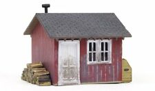 Woodland Scenics BR5057, HO Scale, Built & Ready Work Shed, 5057