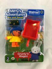 "MIFFY'S ADVENTURES - Big and Small - GRUNTY""S WAGON - Figure Set - NEW"