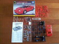 Kit Italeri N. 663 Lamborghini Countach 25° Anniversario  Plastic Model Maquette
