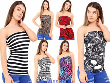 Leopard Fitted Cropped Tops & Shirts for Women