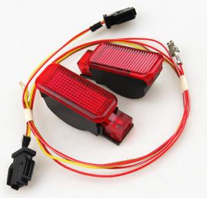 0EM Car Door Warning light & Plug For AUDI A3 A4 S3 S4 S6 A5 A6 A8 Q3Q5 TT Skoda