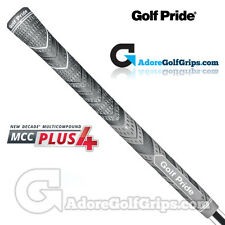 Golf Pride New Decade Multi Compound MCC Plus 4 Grips - Black / Grey  x 3