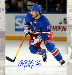 Martin St.Louis New York Rangers Autographed 8x10