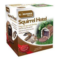 Wooden Squirrel Bird Baths, Feeders & Tables