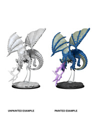 D&D Nolzur's Marvelous Unpainted Miniatures: Young Blue Dragon