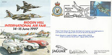 JS(CC)26b Biggin Hill - International Air Fair Flown in Jaguar Pilot Signed.
