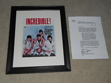 """Framed Beatles Yesterday and Today Butcher Mini-Poster, Letter, RARE! 14""""x17"""""""