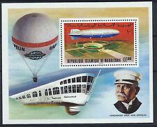 Mauritanie Bloc N° 15** (MNH) 1976 - Zeppelin