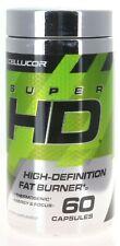 CELLUCOR Super HD - High Definition Fat Burner - 60 Capsules - (B-15)