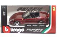 Bburago 36011 FERRARI California T(Open Top) - METAL 1:43 Race&Play