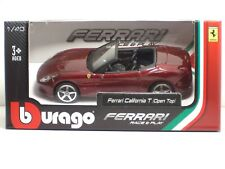 Bburago 36011 FERRARI California T(Open Top) - METAL 1:43 Race&Play