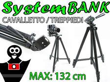 CAVALLETTO TREPPIEDI 132cm per CANON EOS 10D 20D 30D 40D 50D 400D 300D 350D 450D