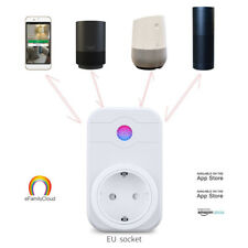 Remote Control Home WiFi Smart Power Socket Wireless Timer Switch Outlet EU Plug