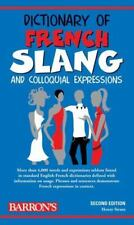 Dictionary of French Slang and Colloquial Expressions (Barron's-ExLibrary