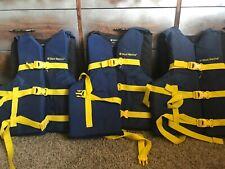 4 west marine life vests Family Set