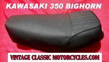 KAWASAKI 350 BIGHORN SEAT RESTORED SHOW QUALITY 1970 F-5 1ST YR