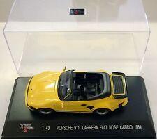 HIGH SPEED 1:43 AUTO PORSCHE 911 CARRERA FLAT NOSE CABRIO 1989  HF9151S