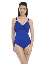 NEW Fantasie Ottawa twist Front Swimsuit 34F - Pacific Blue