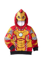 Child size 4 Iron Man Costume Sweatshirt (with defect)
