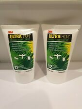 3M Ultrathon Sweat Resistant Insect Repellent 2oz Deet British Army Issue UK x2