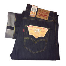 Levi's Blue 501 Original Fit Jeans 32w X 32l
