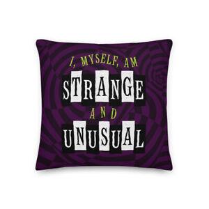 Beetlejuice Pillow – Strange and Unusual