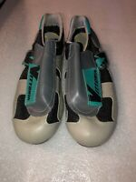 Vittoria Italian leather cycling shoes size vintage Road Bicycle Racing Size 41