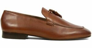 """50% OFF! H By Hudson Mens """"Bolton"""" Loafers/Shoes, Tan Leather, Size 8 UK, 42 EU"""