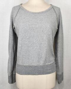 JAMES PERSE STANDARD Heather Gray Sweatshirt 2 M