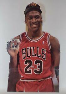 Michael Jordan 1994-95 Upper Deck Basketball Cards Display VTG Cardboard Cutout