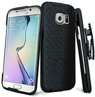 Samsung Galaxy S7 Hybrid Holster Combo Phone Case Belt Clip Cover Kick Stand