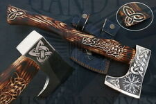 Custom Made Combat Tactical  Premium Viking Axe Hand Forged