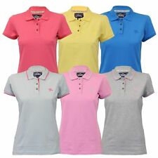 Ladies Top Tokyo Laundry Polo Shirt Pique Cap Sleeved Collared Casual Summer New